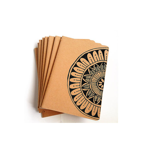 Success Mandala Pen Doodle Notebook