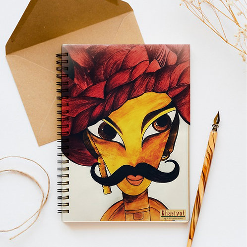Footro Red Notebook