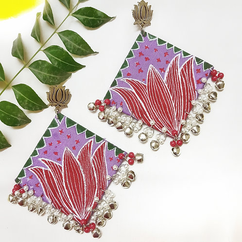 kamal Handpainted Earrings