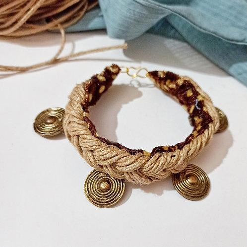 Boho Jute handcrafted Bracelet/Anklet