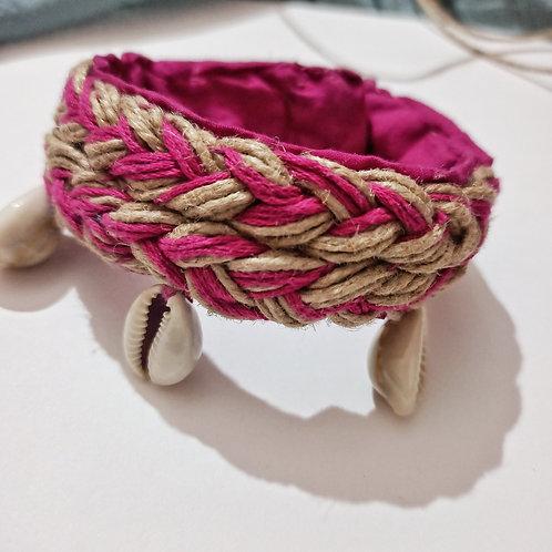 Boho kaudi Jute handcrafted Bracelet/Anklet