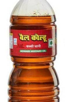 Bail Kohlu Kachi  Ghani Mustard Oil 1L