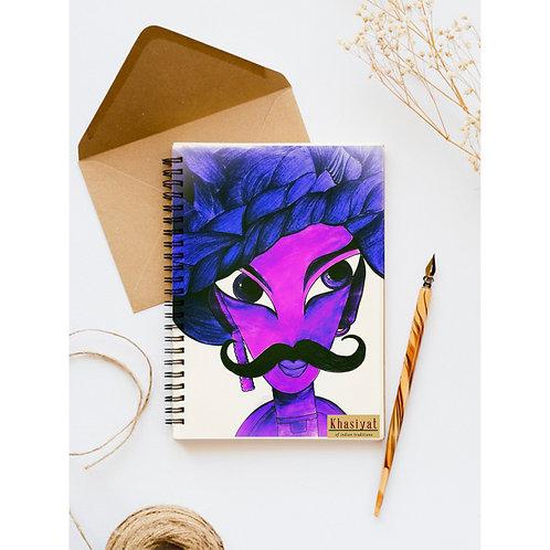 Footro Purple Notebook
