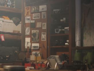 cabinet in underground lair set