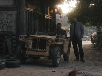 Vilage set with jeep SAVAGE DOG