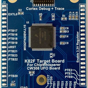 K82F Target for CW308