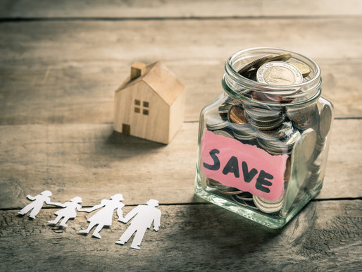 Ways to save up for a down payment