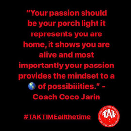 """""""Your passion should be your porch light"""