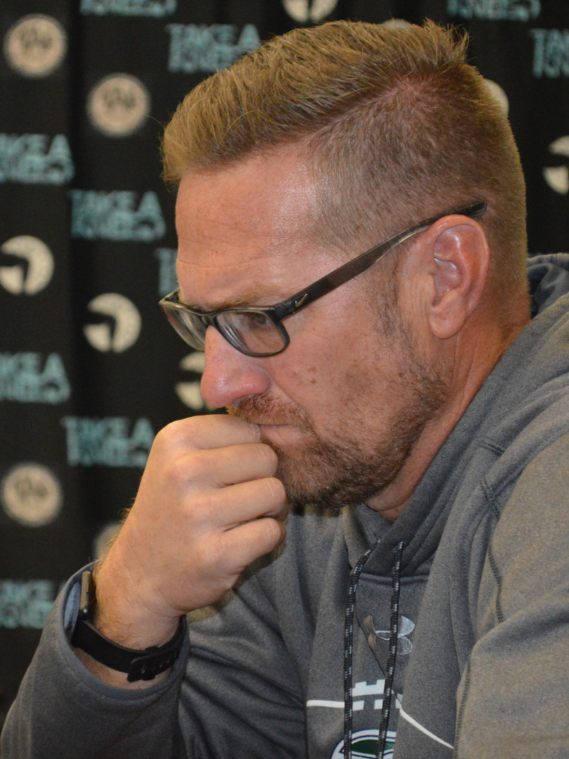 Coach Chris Stevens