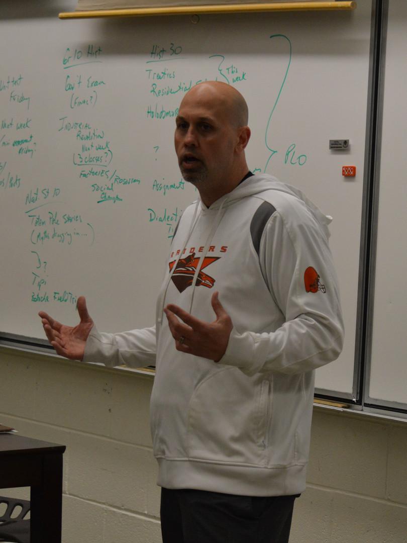 Coach Jason Boyda