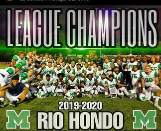 RIO HONDO 2019 CHAMPIONS
