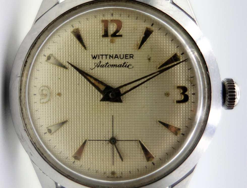 Wittnauer Waffle Dial