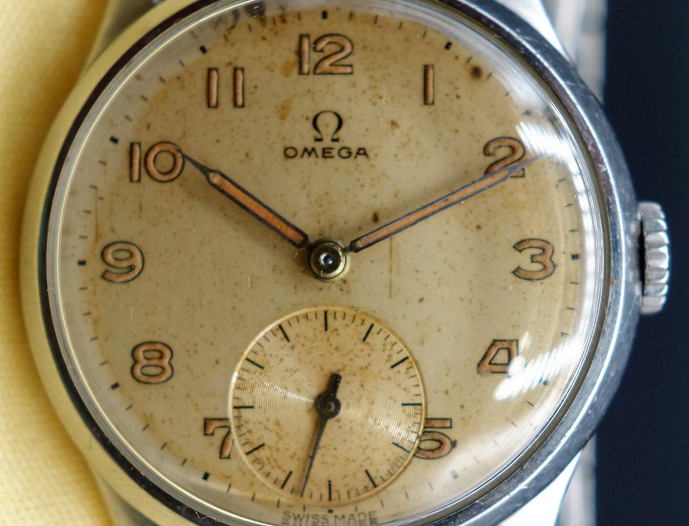 1947 Omega Calatrava - Dennison Case