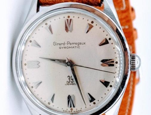 1960 Girard Perregaux Gyromatic 39 Jewels