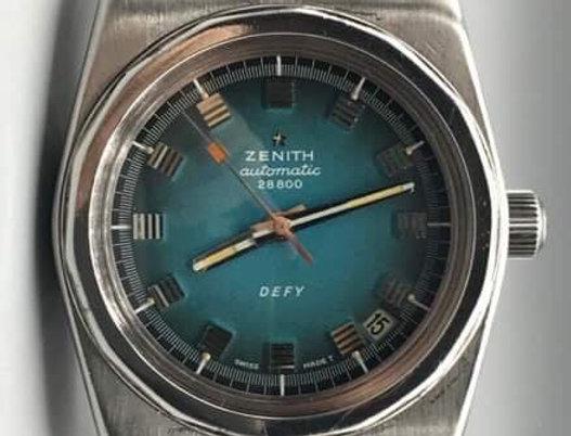 Zenith Defy a7683 with Lobster Bracelet