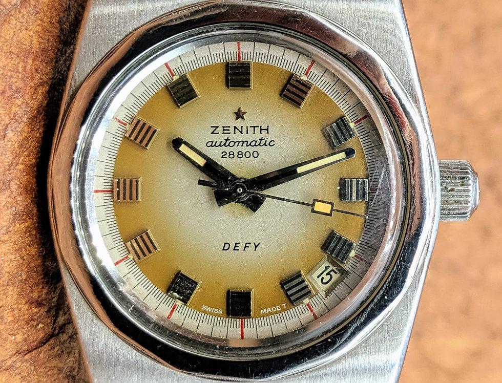 Cappuccino Dial Zenith Defy a7681
