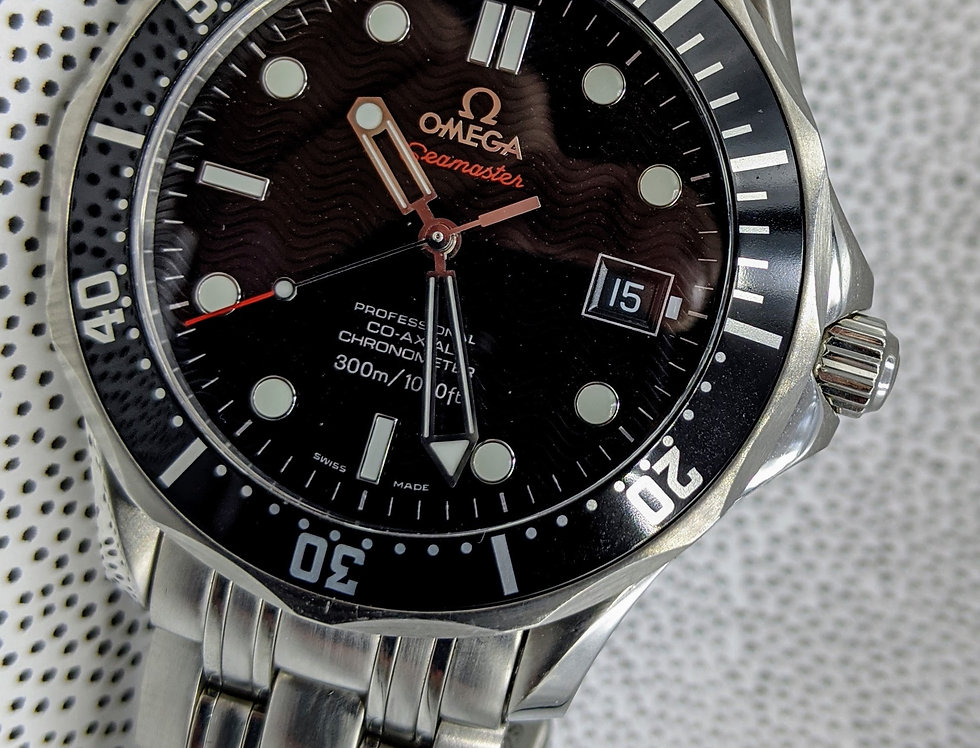 Transitional Omega Seamaster Co-Axial