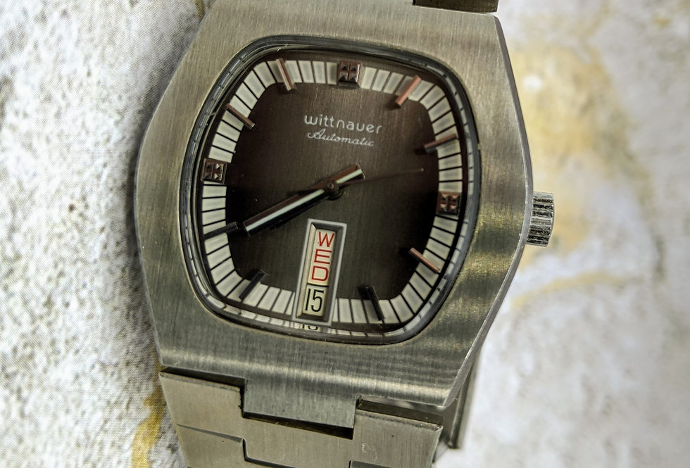 NOS Wittnauer Slate Dial
