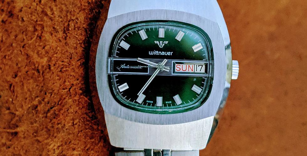 NOS Wittnauer Green Dial