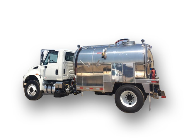 Portable Toilet Truck | 999-2000 Gallons