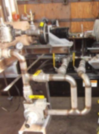 ASME & Non-Code Vessel Fabrication Piping Systems Fabrication Pumping/metering/filtration systems Trailer/Truck Body Modification Full Service Fabrication Shop