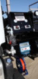 Liquid control meter hydraulics