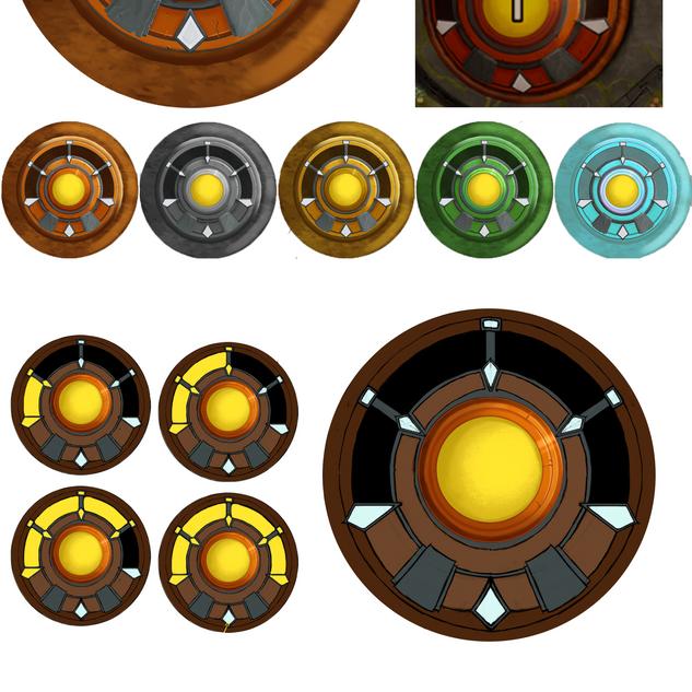 Level Icon Rugon Concept
