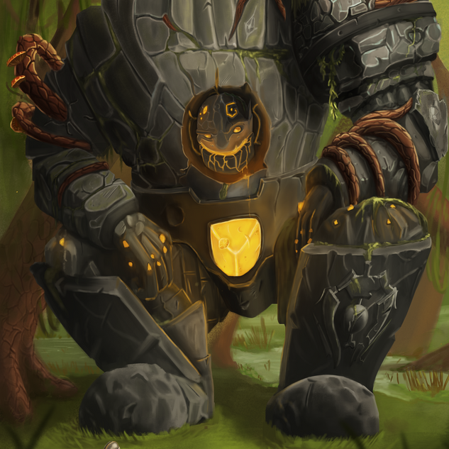 Construct of the Swamp Illustration