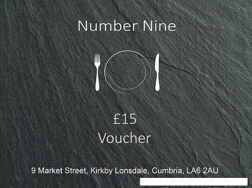 £15 voucher
