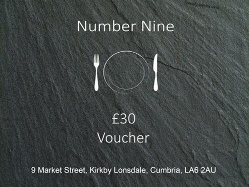 £30 Voucher