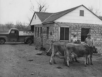 Louise Bryant's family was the last dairy to deliver milk door to door in Ada, Oklahoma.