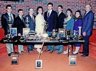1993 Oklahoma State University Livestock Judging Team