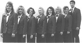 Lisa Bryant as part of the Oklahoma 4-H state officer team in 1990-91.