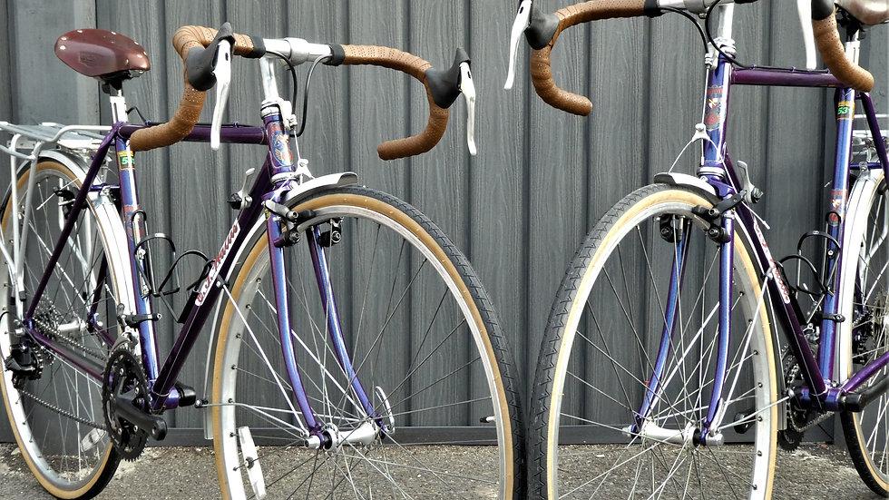 C T Wallis Touring Bicycles (Pair)