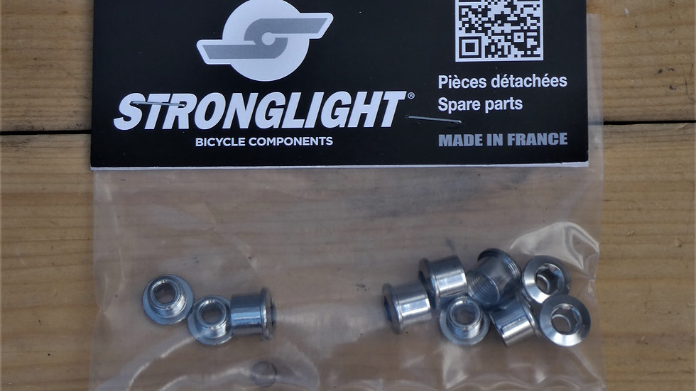 Stronglight Chain Ring Bolts - Double x 5