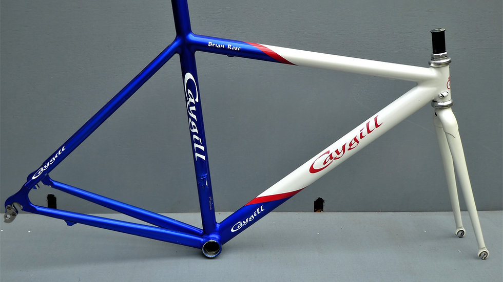 Caygill Cycles Extra Light Road Racing Frame