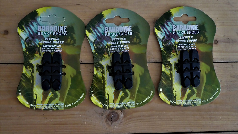 Baradine Replacement Brake Pads - Universal Bike - £7.50 for **2 sets ( *4 Pads)