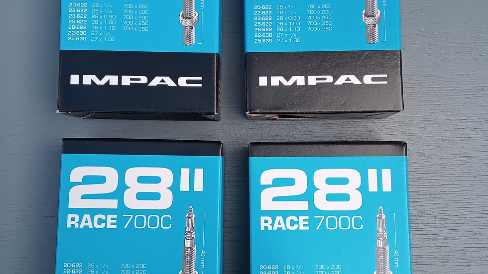 Impac Race 28 - 700 x 20-28 Road Tyre Inner Tubes