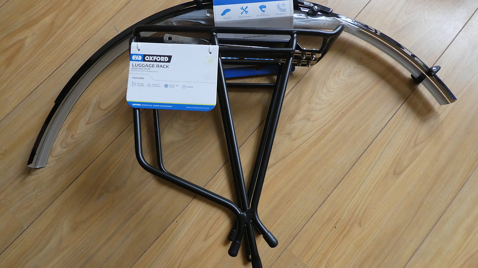 Oxford Mudguard and Luggage Rack Set