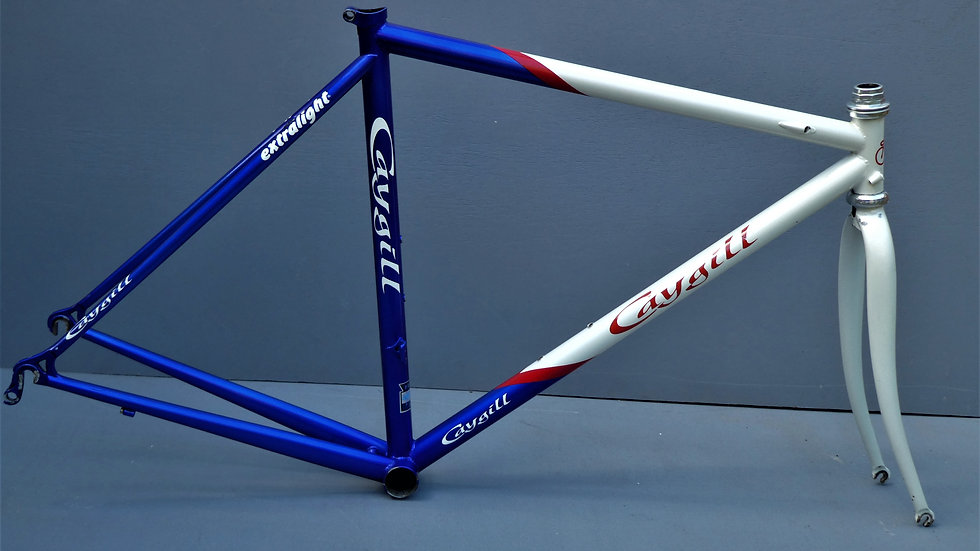 """Caygill Cycles Extra Light Race Frame  - *52cm frame for Rider Height  5""""5-5""""7"""