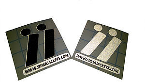 Siima Refective Stickers