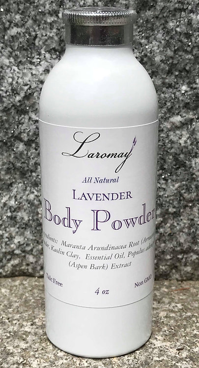 All Natural Lavender Body Powder