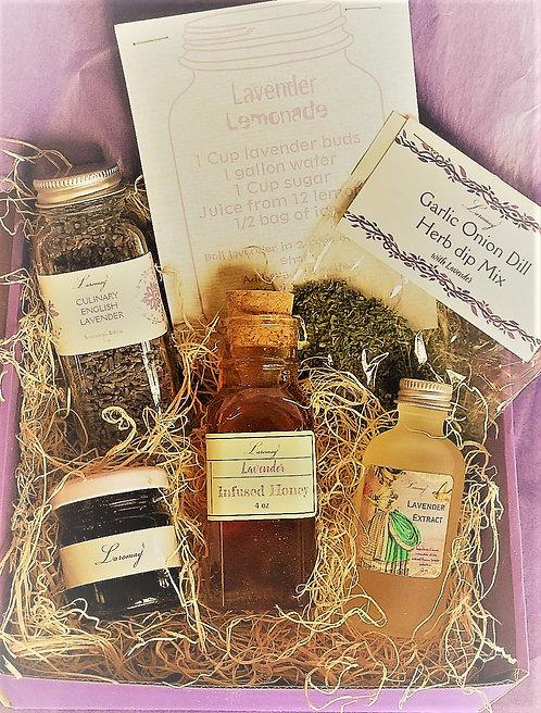 Lavender Food Lovers box