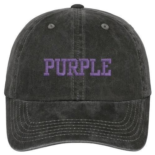 """Purple"" baseball hat"