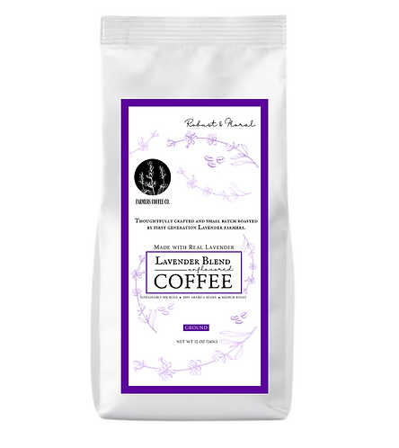 12 oz Lavender Coffee