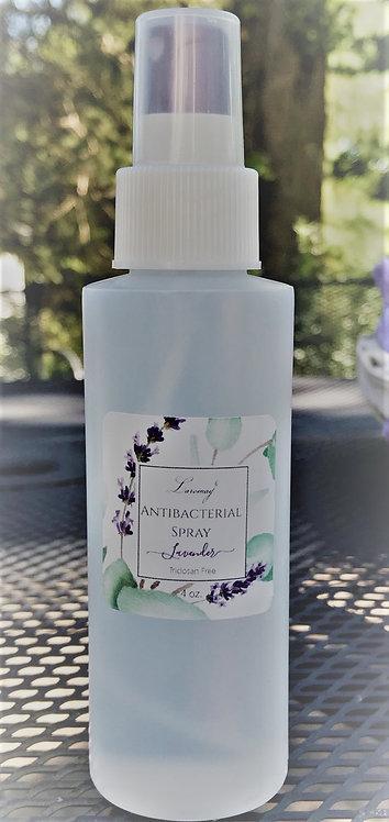 4 oz Lavender scented Antibacterial Spray