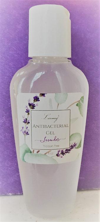 2 oz Lavender Antibacterial Gel