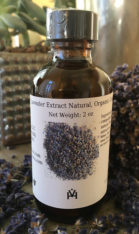 Organic Lavender Extract 2oz