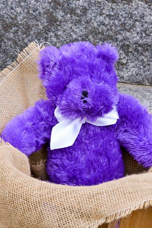 Lavender belly-stuffed teddy