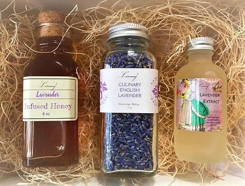 Mini Lavender Food Lovers box